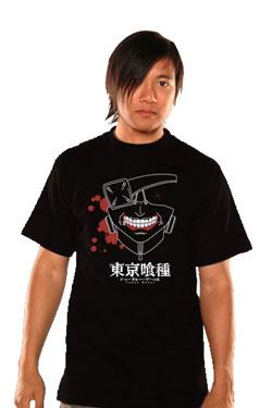 Tokyo Ghoul T-Shirt Kaneki Mask Size S