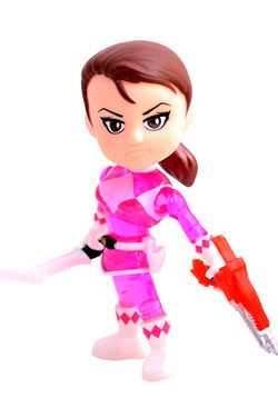Mighty Morphin Power Rangers Action Vinyl Figure Pink Ranger Crystal 8 cm