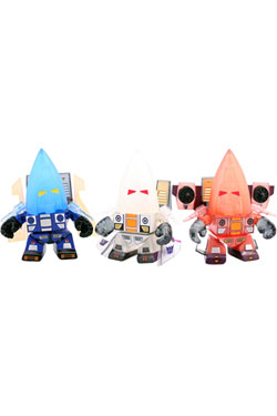 Transformers Action Vinyl Figures SDCC 2014 3-Pack Ghost Seekers 8 cm