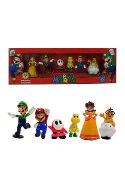 Super Mario Bros. Gift Box Wave 2 with 6 Figures 6 cm