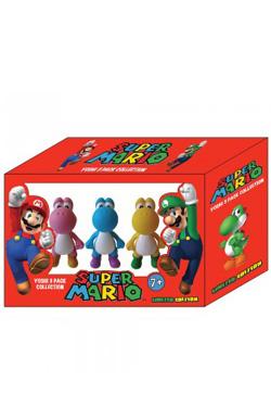 Super Mario Bros. Gift Box with 3 Figures Yoshi Edition 6 cm