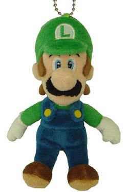Super Mario Bros. Plush Mascot Luigi 14 cm