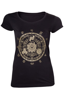 The Legend of Zelda Ladies T-Shirt Gate of Time Size XL
