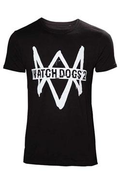 Watch Dogs 2 T-Shirt Logo Text Size M