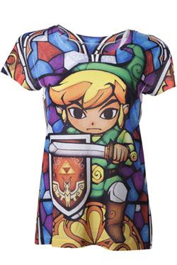 The Legend of Zelda Ladies T-Shirt Zelda Sumblimation Size M