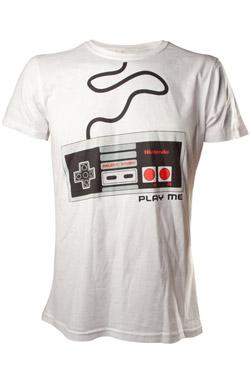 Nintendo T-Shirt NES Controller Size M