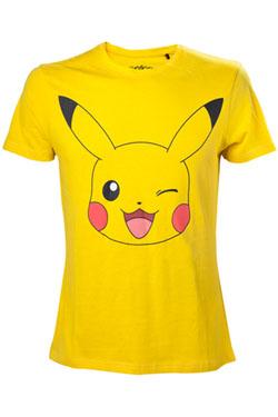 Pokemon T-Shirt Pikachu Winking  Size M