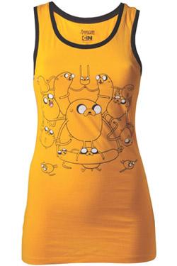 Adventure Time Ladies Tank Top Jake Size M