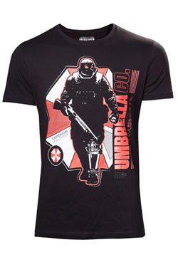 Resident Evil T-Shirt Umbrella Company Soldier Size S