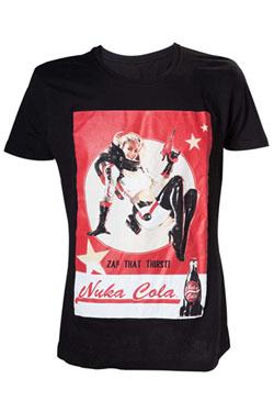 Fallout 4 T-Shirt Nuka Cola Lady Size M