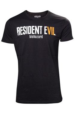 Resident Evil T-Shirt Biohazard Logo Size M