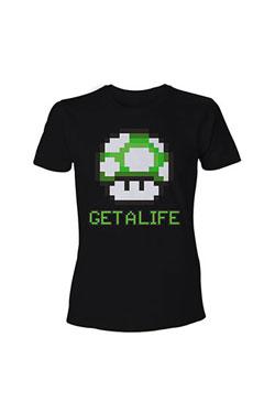Nintendo T-Shirt Mario Get a Life Size XL