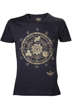 The Legend of Zelda T-Shirt Golden Map Size L