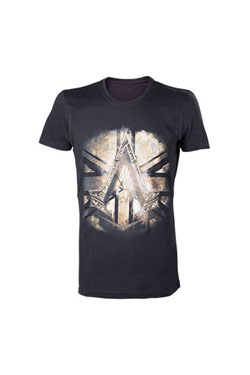 Assassin's Creed Syndicate T-Shirt Bronze Crest Size S