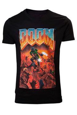 Doom T-Shirt Classic Boxart Size L