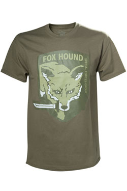 Metal Gear Solid V T-Shirt Fox Hound Size M