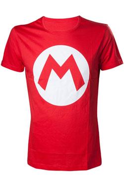Nintendo T-Shirt Big M Logo Size S