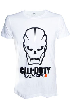 Call of Duty Black Ops III T-Shirt Black Skull Size XL
