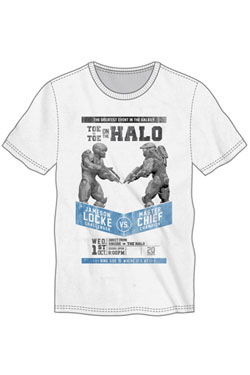 Halo 5 T-Shirt Fight Poster Size L