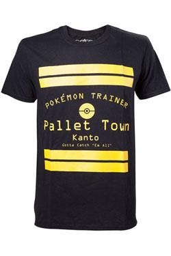 Pokemon T-Shirt Pallet Town Size S