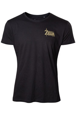 The Legend of Zelda Breath of the Wild T-Shirt Logo Size S