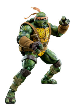 Teenage Mutant Ninja Turtles Action Figure 1/6 Mikey Classic Comic Version 30 cm
