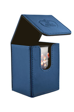 Ultimate Guard Flip Deck Case 80+ Standard Size Dark Blue