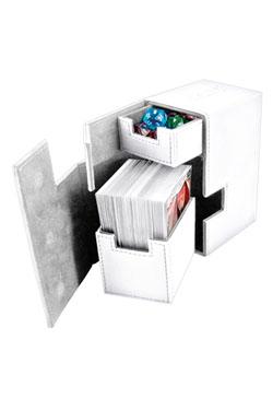 Ultimate Guard Flip´n´Tray  Deck Case 80+ Standard Size XenoSkin White