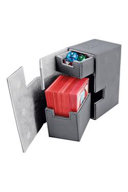 Ultimate Guard Flip´n´Tray  Deck Case 80+ Standard Size XenoSkin Grey