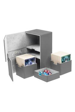 Ultimate Guard Twin Flip´n´Tray  Deck Case 200+ Standard Size XenoSkin Grey