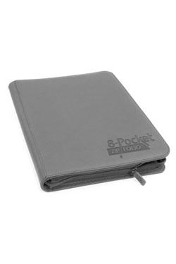 Ultimate Guard 8-Pocket ZipFolio XenoSkin Grey