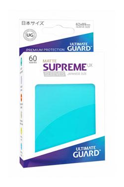 Ultimate Guard Supreme UX Sleeves Japanese Size Matte Aquamarine (60)