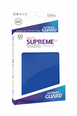 Ultimate Guard Supreme UX Sleeves Japanese Size Matte Blue (60)
