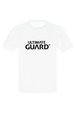 Ultimate Guard T-Shirt Wordmark White Size XL