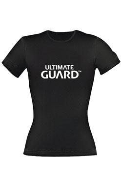 Ultimate Guard Ladies T-Shirt Wordmark Black Size M