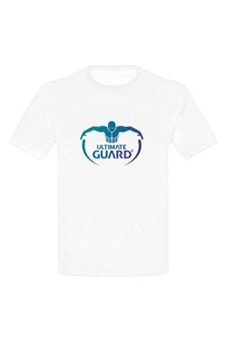 Ultimate Guard T-Shirt Logo White Size XL