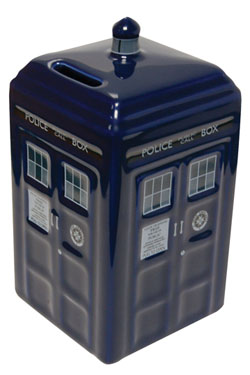 Doctor Who Money Bank Tardis