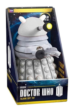 Doctor Who Plush Figure with Sound White Dalek 38 cm