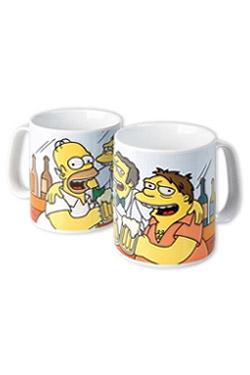 Simpsons Mega Mug Best Friends