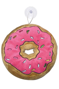 Simpsons Mini cushion with suction cup Donut 18 cm