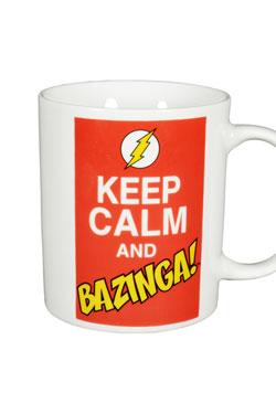 The Big Bang Theory Mug Keep Calm and Bazinga