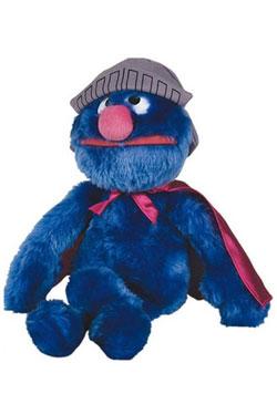Sesame Street Beanie Plush Figure Cookie Super-Grover 25 cm