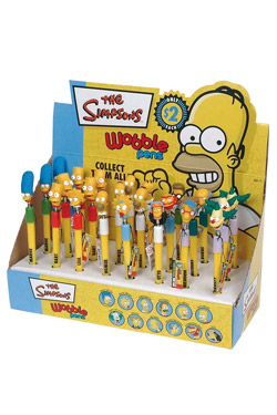 Simpsons Wobble Pens Display (24)