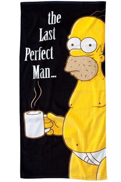 Simpsons Beach Towel The Last Perfect Man 75 x 150 cm