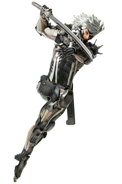 Metal Gear Rising Revengeance Hdge Technical No. 33 PVC Statue Raiden 25 cm