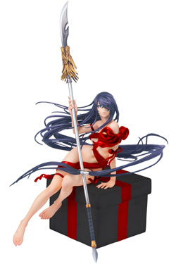 Shin Ikki Tousen Ribbon Doll Collection PVC Statue 1/8 Unchou Kanu Red Ver. 25 cm