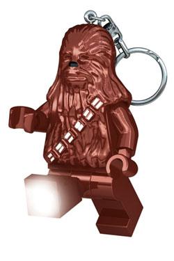 Lego Star Wars Mini-Flashlight with Keychains Chewbacca