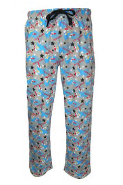 Sonic the Hedgehog Lounge Pants Game Over Size M