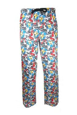 Sonic the Hedgehog Lounge Pants Size XL
