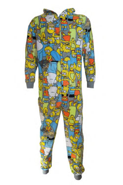 Simpsons Onesie Characters Size M